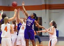 NCAA Girls Basketball Stock Images