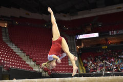2015 NCAA Gymnastics - Maryland Stock Photo