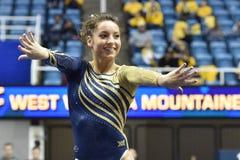 2015 NCAA Gymnastics - WVU-Penn State Royalty Free Stock Photo