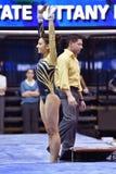 2015 NCAA Gymnastics - WVU-Penn State Stock Images