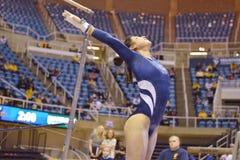 2015 NCAA Gymnastics - WVU-Penn State Royalty Free Stock Photos