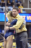 2015 NCAA Gymnastics - WVU-Penn State Royalty Free Stock Images