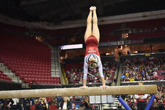 2015 NCAA Gymnastiek - Maryland Stock Afbeeldingen