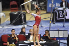 2015 NCAA Gymnastiek - Maryland Stock Foto's