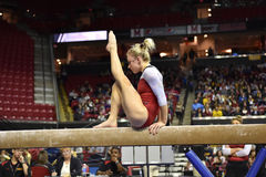 2015 NCAA Gymnastiek - Maryland Royalty-vrije Stock Afbeeldingen