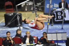 2015 NCAA Gymnastiek - Maryland Stock Afbeelding