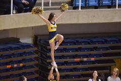 2015 NCAA Gymnastiek - Staat WVU-Penn Royalty-vrije Stock Afbeelding