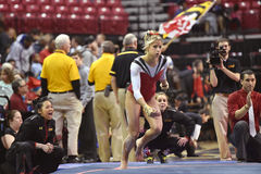 2015 NCAA-Gymnastik - Maryland Stockfotografie