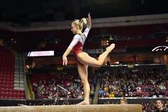 2015 NCAA-Gymnastik - Maryland Lizenzfreies Stockbild