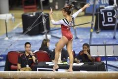 2015 NCAA-Gymnastik - Maryland Stockbild