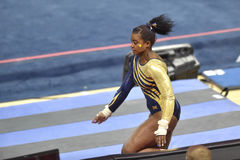 2015 NCAA-Gymnastik - West Virginia Lizenzfreies Stockbild
