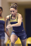 2015 NCAA-Gymnastik - WVU-Pennzustand Lizenzfreie Stockbilder
