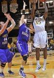 NCAA het basketbal 2012 van Mensen Royalty-vrije Stock Foto's