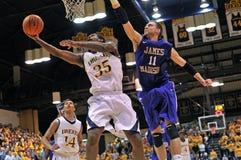 NCAA het basketbal 2012 van Mensen Stock Fotografie