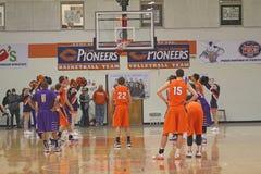 NCAA het Basketbal van Jongens Stock Foto's