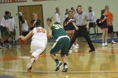 NCAA het Basketbal van Meisjes Royalty-vrije Stock Afbeelding