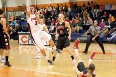 NCAA het Basketbal van Mensen Royalty-vrije Stock Afbeelding