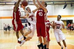 NCAA het Basketbal van Mensen Stock Foto