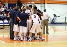 NCAA het Basketbal van Mensen Stock Afbeelding