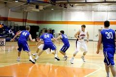 NCAA het Basketbal van Mensen Stock Fotografie