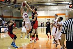 NCAA het Basketbal van Mensen Royalty-vrije Stock Foto's