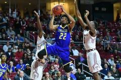 2015 NCAA het Basketbal van Mensen - Delaware bij Tempel Royalty-vrije Stock Afbeelding