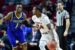 2015 NCAA het Basketbal van Mensen - Delaware bij Tempel Stock Foto's