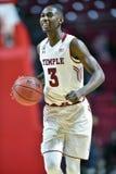 2015 NCAA het Basketbal van Mensen - FDU bij Tempel Royalty-vrije Stock Afbeeldingen