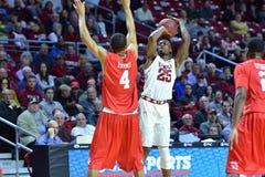 2015 NCAA het Basketbal van Mensen - tempel-Houston Royalty-vrije Stock Afbeeldingen