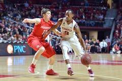 2015 NCAA het Basketbal van Mensen - tempel-Houston Stock Afbeelding