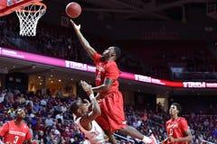 2015 NCAA het Basketbal van Mensen - tempel-Houston Royalty-vrije Stock Foto