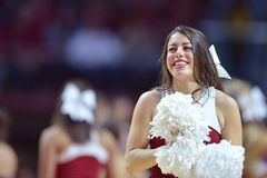 2015 NCAA het Basketbal van Mensen - tempel-Tulsa Royalty-vrije Stock Fotografie