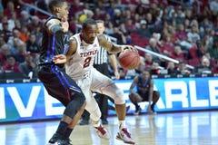 2015 NCAA het Basketbal van Mensen - tempel-Tulsa Stock Afbeelding