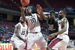 2014 NCAA het Basketbal van Mensen - TEMPEL versus LIU Royalty-vrije Stock Fotografie