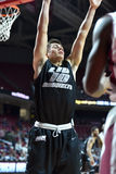 2014 NCAA het Basketbal van Mensen - TEMPEL versus LIU Stock Foto