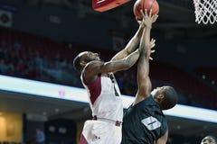 2014 NCAA het Basketbal van Mensen - TEMPEL versus LIU Stock Afbeeldingen