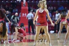 2014 NCAA het Basketbal van Mensen - TEMPEL versus LIU Royalty-vrije Stock Afbeeldingen