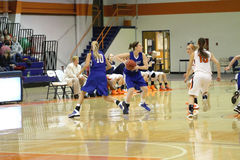 NCAA het Basketbal van Vrouwen Royalty-vrije Stock Fotografie