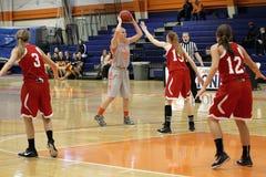 NCAA het Basketbal van Vrouwen Royalty-vrije Stock Foto