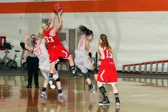 NCAA het Basketbal van Vrouwen Stock Afbeeldingen