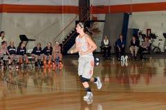 NCAA het Basketbal van Vrouwen Royalty-vrije Stock Afbeelding