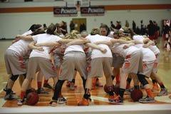 NCAA het Basketbal van Vrouwen Royalty-vrije Stock Afbeeldingen