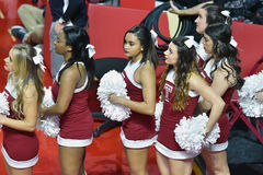 2015 NCAA het Basketbal van Vrouwen - Tempel versus de Staat van Delaware Stock Foto