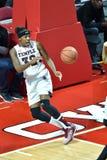 2015 NCAA het Basketbal van Vrouwen - Tempel versus de Staat van Delaware Royalty-vrije Stock Foto's