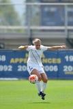 2015 NCAA het Voetbal van Vrouwen - Villanova @ WVU Stock Foto's
