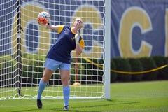 2015 NCAA het Voetbal van Vrouwen - Villanova @ WVU Royalty-vrije Stock Foto's