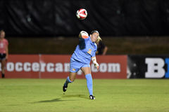 2015 NCAA het Voetbal van Vrouwen - WVU-Maryland Royalty-vrije Stock Foto
