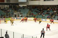 NCAA Hockey Game Royalty Free Stock Photos
