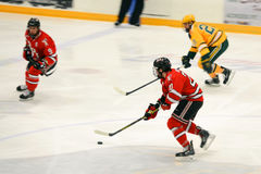 NCAA Hockey Game Royalty Free Stock Photography