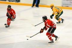 NCAA Hockey Game Royalty Free Stock Photography